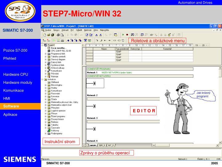 STEP7-Micro/WIN 32