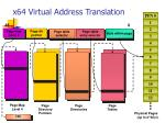 x64 virtual address translation
