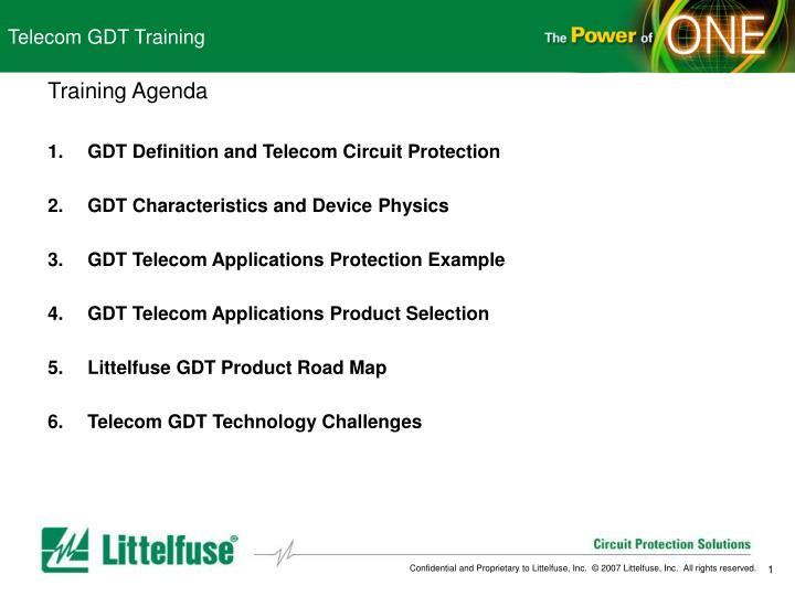 telecom gdt training