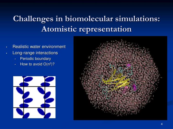 Challenges in biomolecular simulations: