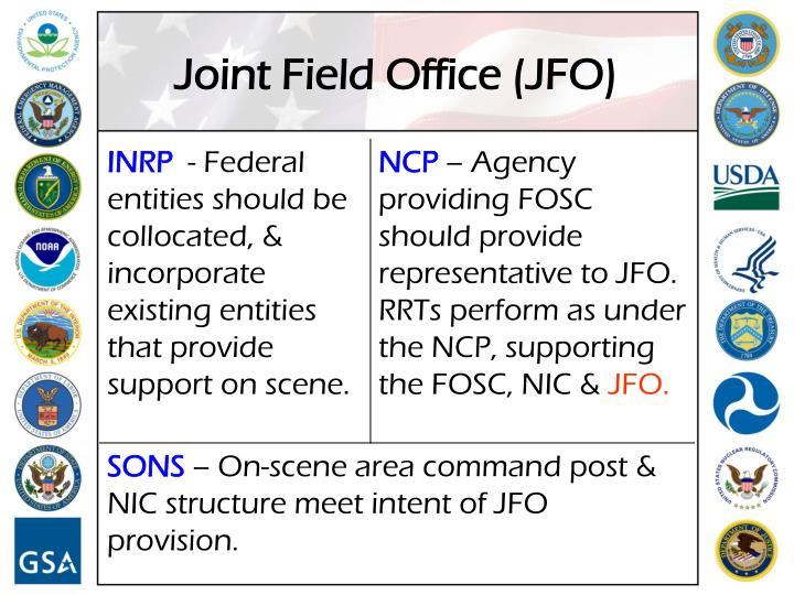 Joint Field Office (JFO)