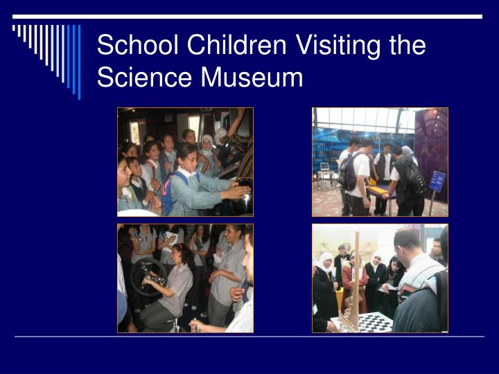 School Children Visiting the Science Museum