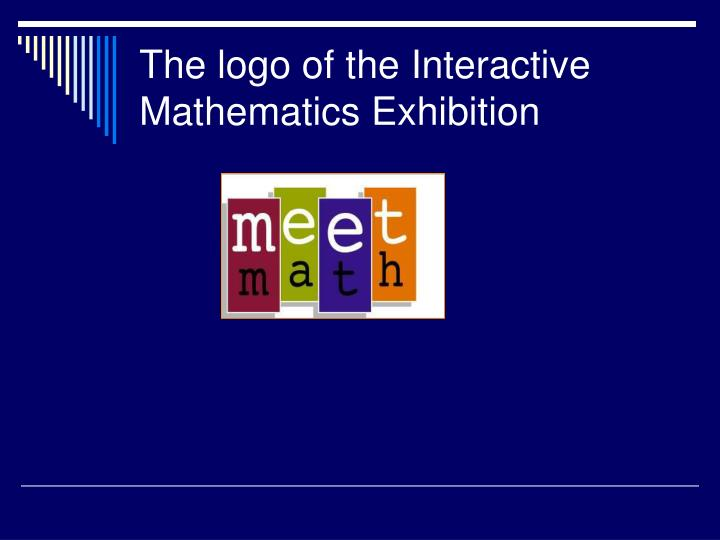 The logo of the Interactive Mathematics Exhibition