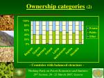 ownership categories 2