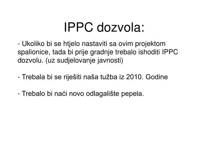 IPPC dozvola: