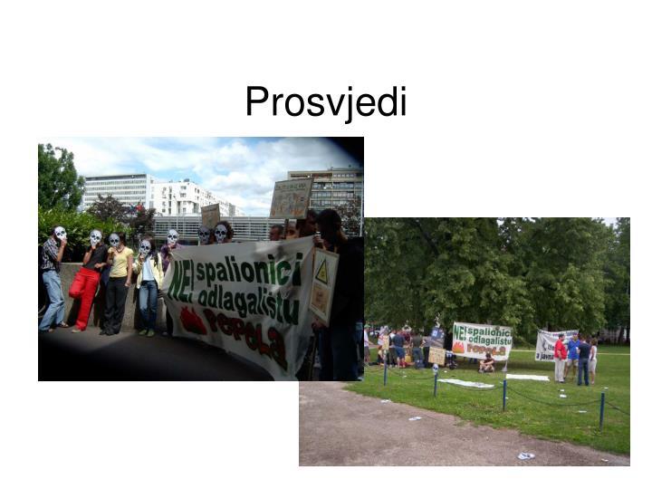 Prosvjedi