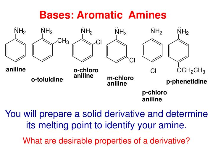 Bases: Aromatic  Amines