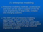 1 enterprise modeling