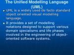 the unified modelling language uml