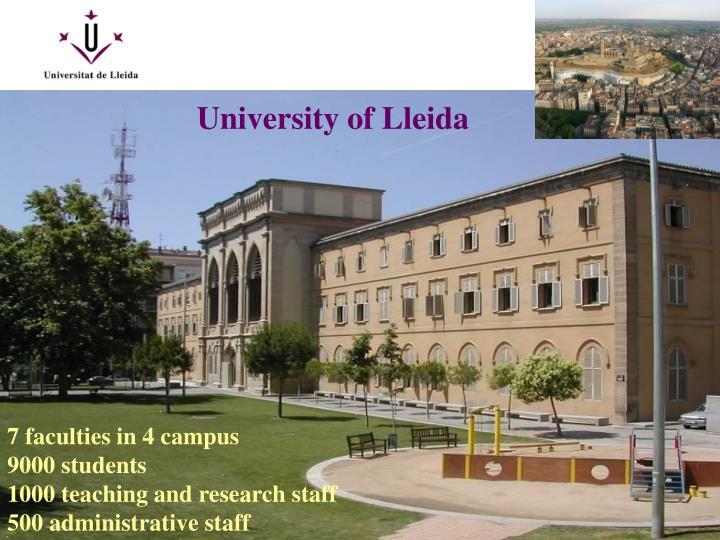 University of Lleida