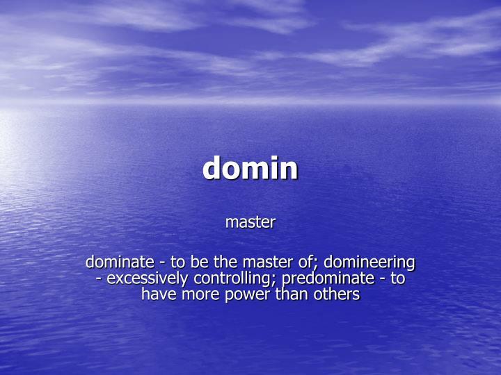 domin