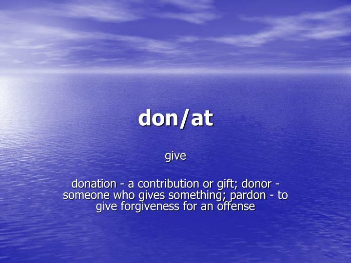 don/at