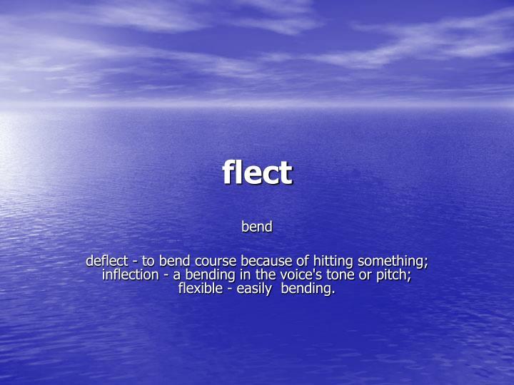 flect