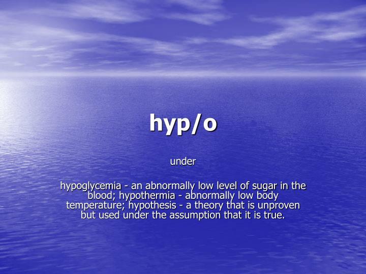 hyp/o