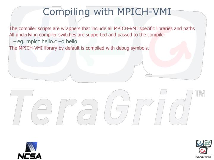 Compiling with MPICH-VMI