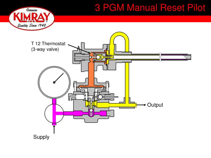 3 PGM Manual Reset Pilot