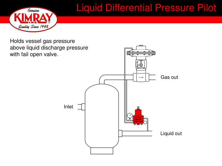 Liquid Differential Pressure Pilot
