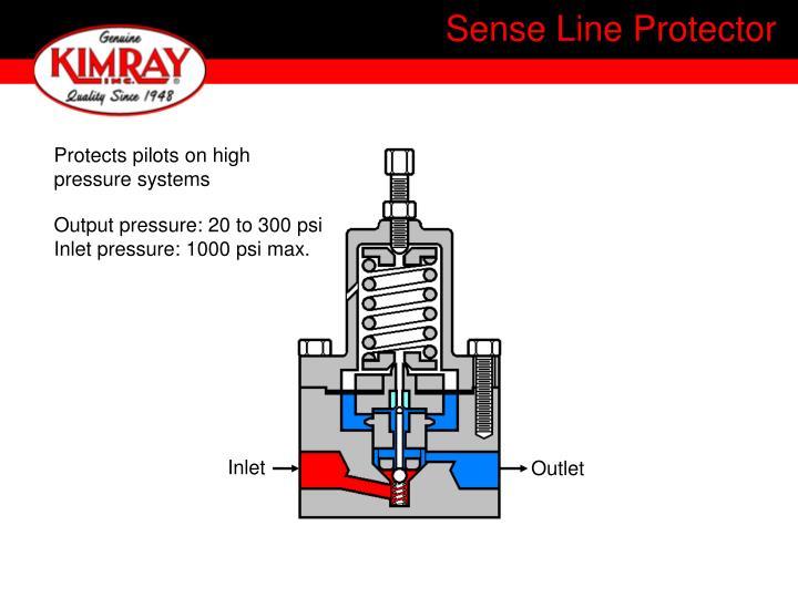 Sense Line Protector
