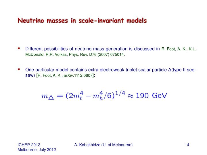 Neutrino masses in scale-invariant models