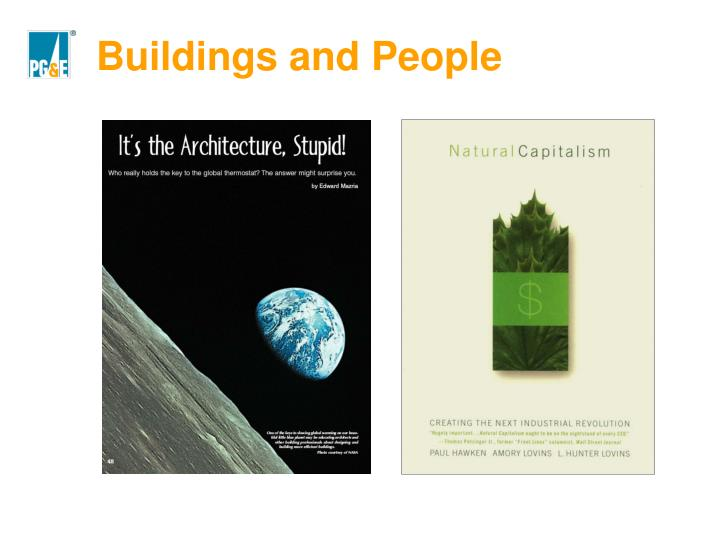 Buildings and People