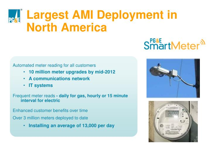Largest AMI Deployment in