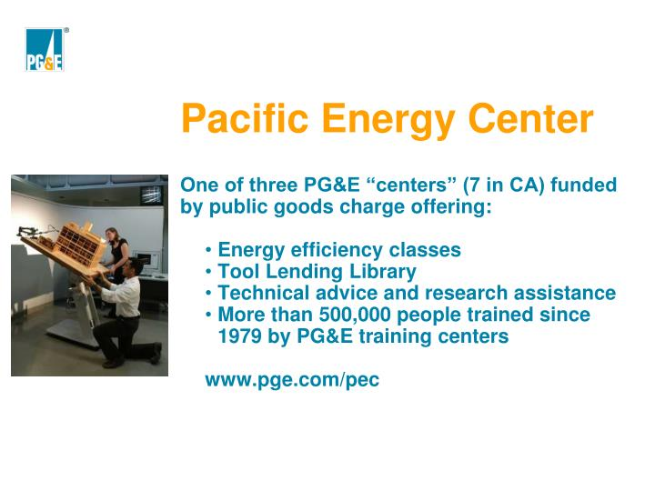 Pacific Energy Center