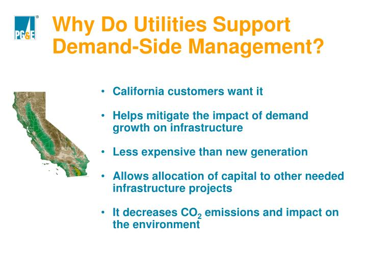 Why Do Utilities Support Demand-Side Management?