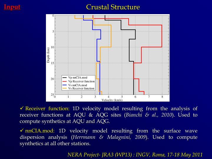 Crustal Structure