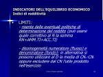 indicatori dell equilibrio economico indici di redditivit1