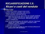 riclassificazione c e ricavi e costi del venduto3