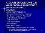 riclassificazione c e valore della produzione e valore aggiunto2