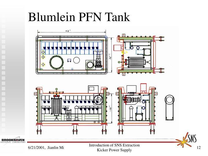 Blumlein PFN Tank