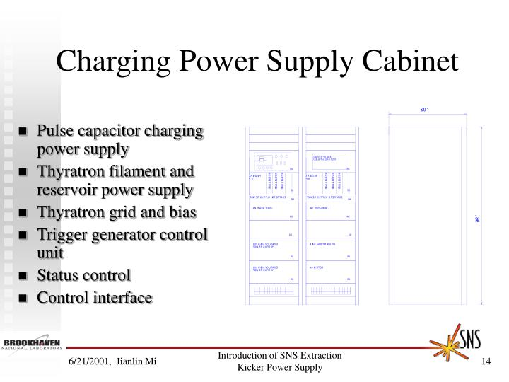 Charging Power Supply Cabinet