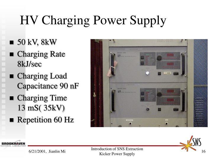 HV Charging Power Supply
