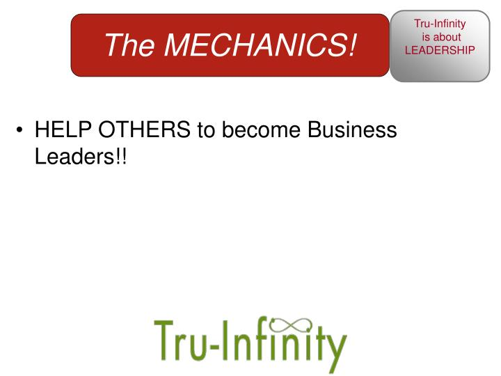 HELP OTHERS to become Business