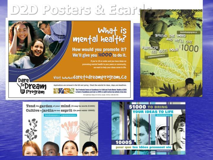 D2D Posters & Ecards