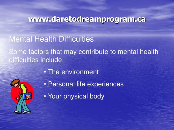 www.daretodreamprogram.ca