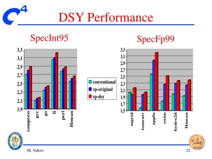 DSY Performance