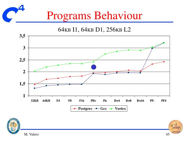 Programs Behaviour