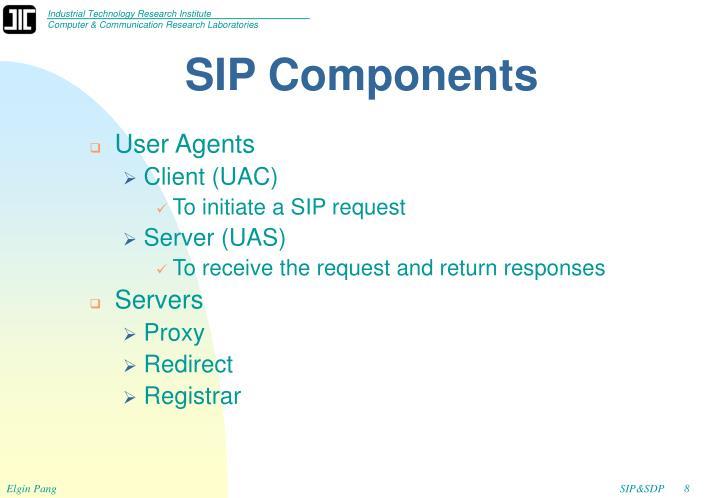 SIP Components