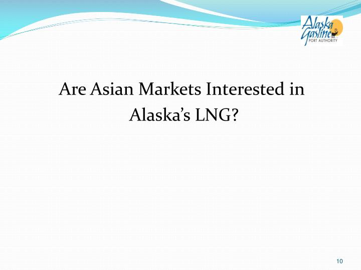 Are Asian Markets Interested in
