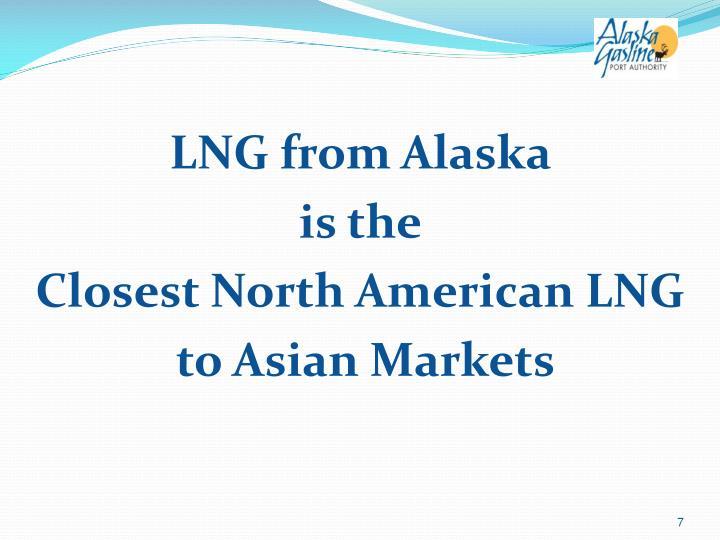 LNG from Alaska