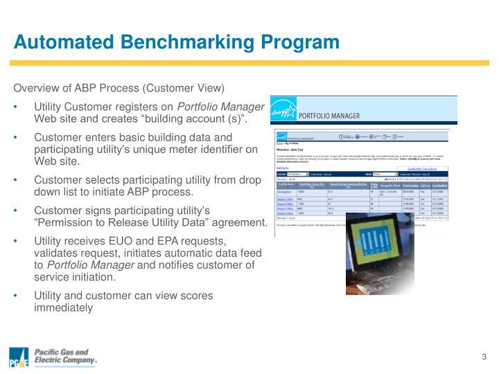 Automated Benchmarking Program