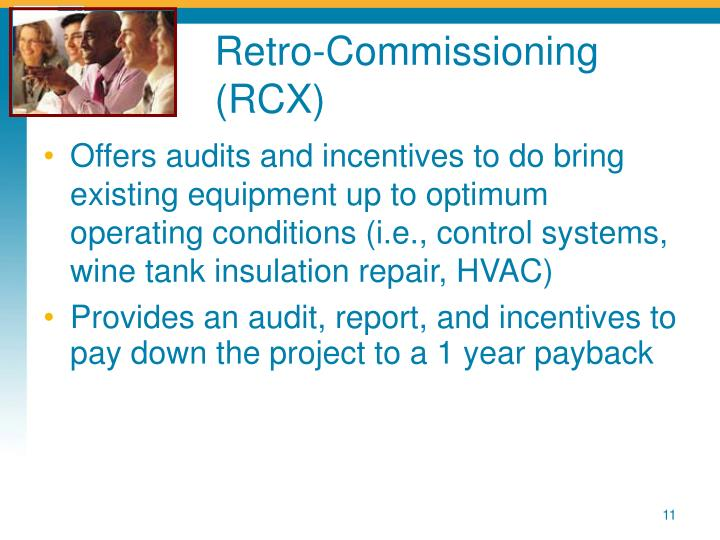 Retro-Commissioning (RCX)