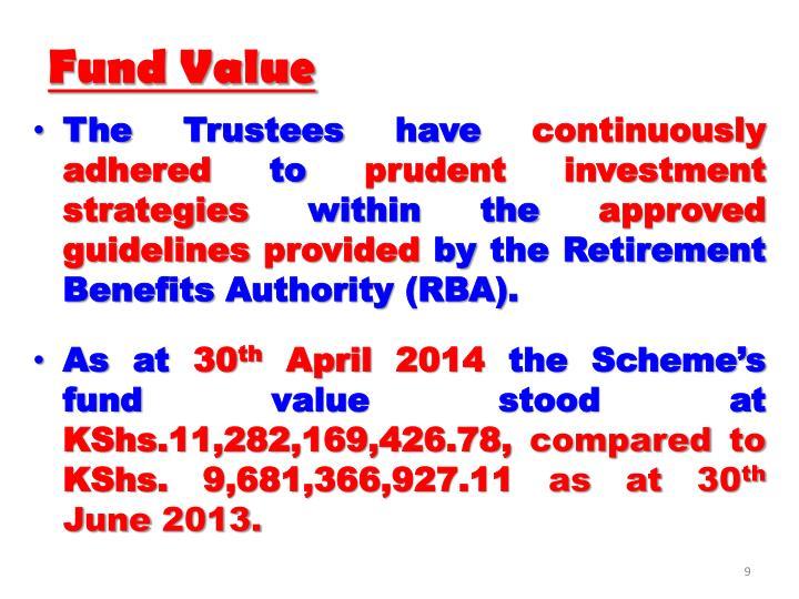 Fund Value