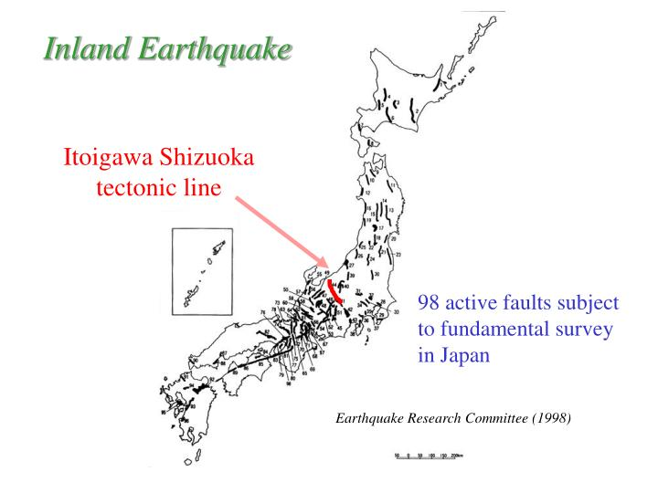 Inland Earthquake
