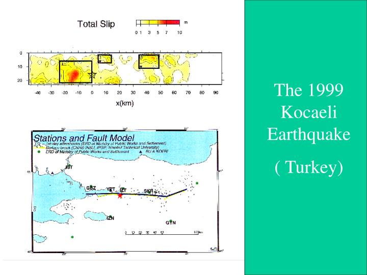 The 1999 Kocaeli Earthquake
