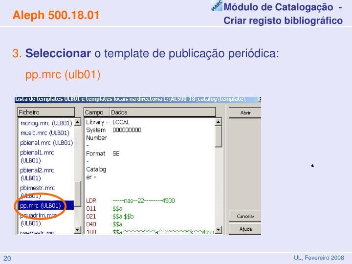 Módulo de Catalogação  -
