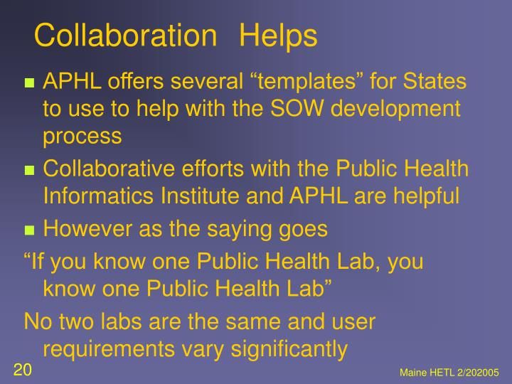 CollaborationHelps