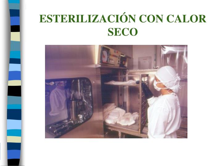 ESTERILIZACIÓN CON CALOR SECO